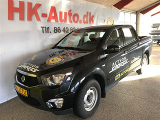 SsangYong Actyon Sports 2,0 D Free 4WD 155HK Pick-Up 6g