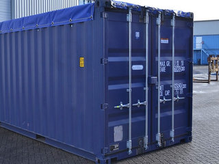 Ny / brugt 20ft Open Top Container