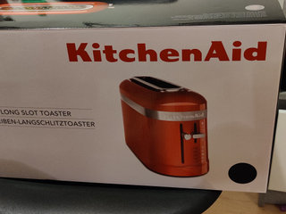 Kitchenaid toaster i sort NY