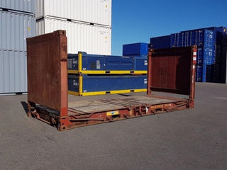 - - -  ?20 Flat rack container