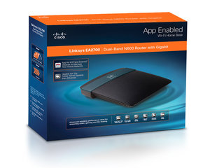 Linksys by Cisco EA2700 WiFi router
