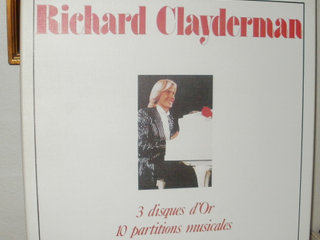 Richard Clayderman: 3 Disques d'Or