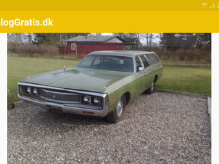 Chrysler Town Country Wagon 1971