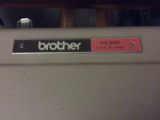 Brother strikkenaskine KH890