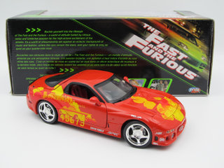 Fast and Furious Mazda RX7 1994 1:18