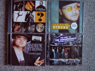 ANDREW STRONG / COMMITMENTS CDer sælges stykvis