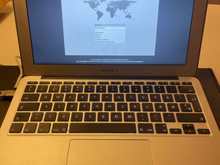 MacBook Air 11 tommer, mid 2011