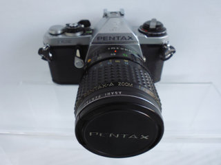 Pentax ME M/ org. 35-70 mm F:4,0 Zoom M/uv-filter