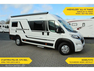 "2021 - Adria Twin Axess 640 SL   ""Autocamp All-in"""