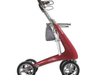 Rollator - ByACRE Carbon Ultralight - Rød - 4