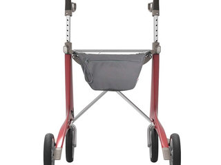 Rollator - ByACRE Carbon Ultralight - Rød - 5