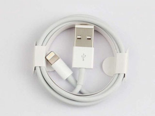 apple iphone oplader 2 meter 2 stk
