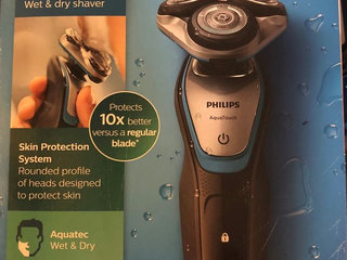 PHILIPS S5400/06 Aqua touch wet and dry shaver