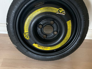 VW UP reservehjul 4 x 100 14 tommer