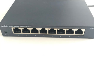 Switch, 8 port