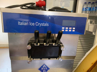 Italian Ice Crystals model B46P Softicemaskine - 3