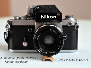 Nikon F2 Photomic m/ Nikkor - H.C -Auto 50mm f/2
