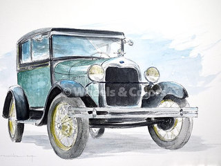 Ford A Motor