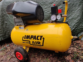 Kompressor, IMPACT AIR 2 cyl. 3 HP 50 ltr.