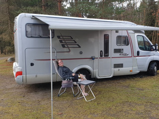 Luksuscamper for to. Hymer med lav ejeraftift