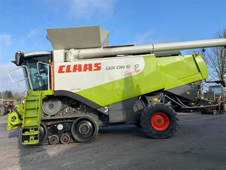 CLAAS Lexion 600 TERRATRACK - 3