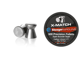 Stoeger X-Match Fladhagl - 4,5 mm.