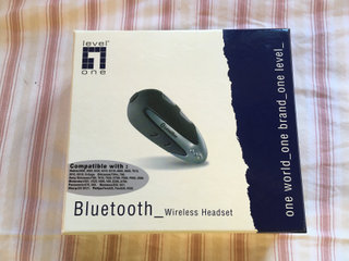 Bluetooth Wireless Headset Ny Level one