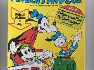 Anders And & Co. 1980 KOMPLET