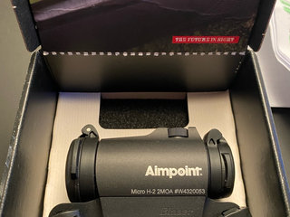 Aimpoint Micro H2 Blaser