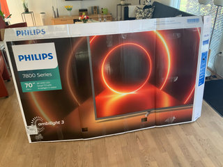 Phillips 70 tommer Ambilight tv - 2