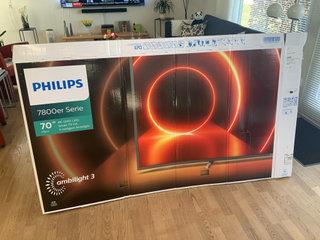 Phillips 70 tommer Ambilight tv - 3