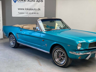 Ford Mustang 4,7 V8 289cui. Convertible