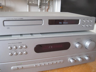 NAD C720 BEE stereo receiver + CD
