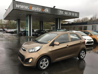 Kia Picanto 1,0 Motion Plus 69HK 5d