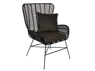 Opus rattan stol sort OUTLET Fredericia