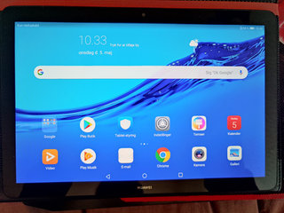 """Tablet Huawei T5 10.1"""", sim kort, incl Luxus Cover"""