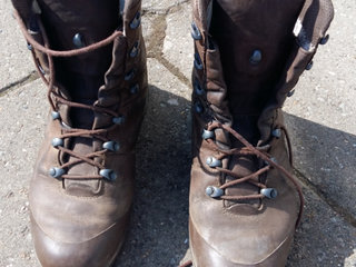 Haix str 43 combat boot heavy