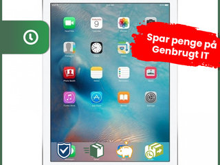 Apple iPad 6 2018 128GB WiFi (Sølv) - Grade B - tablet