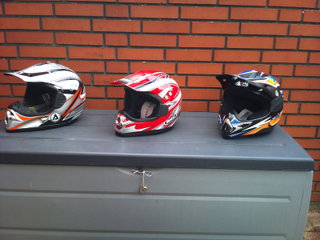 Cross, Bmx, Atv.  Acerbis / Arc / Airoh.