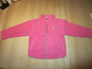 Lego fleece trøje i pink str. 110 / 116
