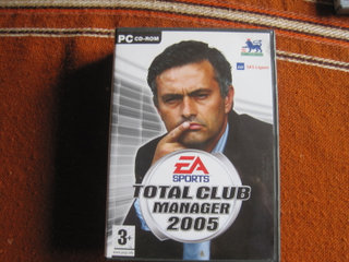 Pc Spil Total Club Manager 2005    15 kr
