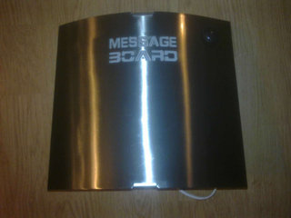 Message Board lampe