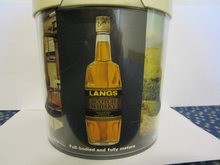 Langs Whisky is spand plast