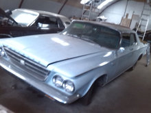 1963 Chrysler Newport 2d HT.