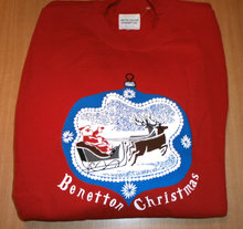 NY Benetton - Christmas sweatshirt