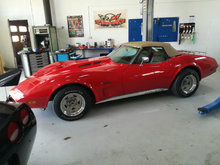 Chevrolet corvette cab.