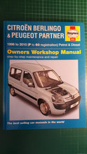 Citroen Berlingo 1996-2010 Rep. Manual