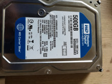 500GB wd harddisk carviar blue!