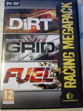 PC spil - Dirt, Grid, Fuel - 3 DVD´er