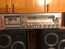 Gold Star stereo casset receiver 785